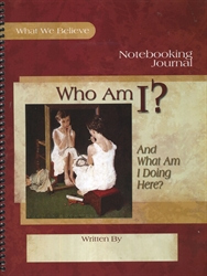 Who Am I? - Notebooking Journal