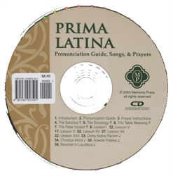 Prima Latina - Pronunciation CD