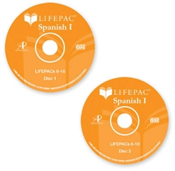 Lifepac: Spanish I - CD for Lifepac 6-10