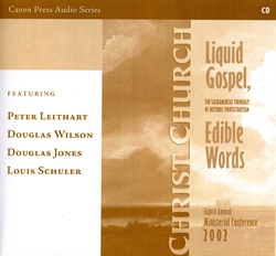 Liquid Gospel, Edible Words - CD