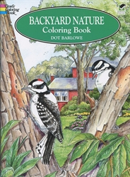 Backyard Nature - Coloring Book