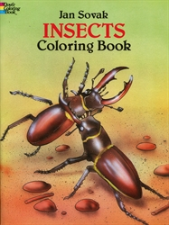 Insects - Coloring Book