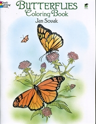 Butterflies - Coloring Book
