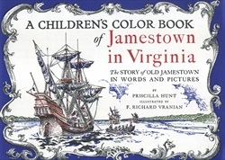 Children's Color Book of Jamestown in Virginia