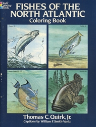 Fishes of the North Atlantic - Coloring Book