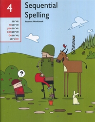 Sequential Spelling 4 - Workbook