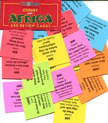 Journey into Africa - Review Cards