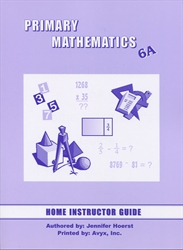 Primary Mathematics 6A - Home Instructor's Guide