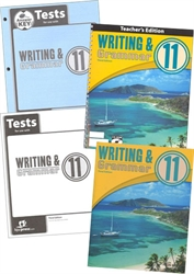 BJU Writing & Grammar 11 - Home School Kit