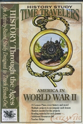 Time Travelers: America in World War II - CD-ROM