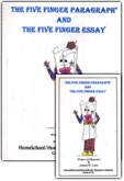 Five Finger Paragraph and the Five Finger Essay