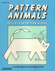 Pattern Animals Puzzles for Pattern Blocks