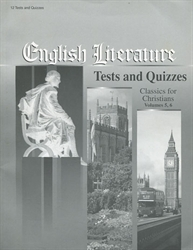English Literature - Tests & Quizzes (old)