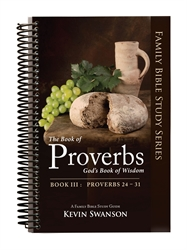 Book of Proverbs Book III