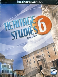 Heritage Studies 6 - Teacher Edition with CD-ROM (old)