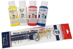 How Great Thou Art - Paints & Brushes