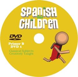 Spanish for Children Primer B - DVD