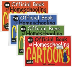 Official Book of Homeschooling Cartoons - Set