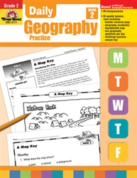 Daily Geography Practice Grade 2