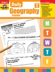 Daily Geography Practice Grade 4