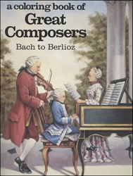 Coloring Book of Great Composers Book 1