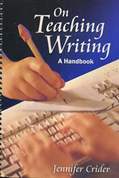On Teaching Writing