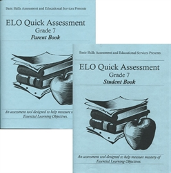 ELO Quick Assessment Grade 7 - Set