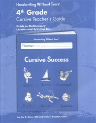 Handwriting Without Tears 4th Grade Cursive Teachers Guide