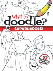 What to Doodle? Superheroes