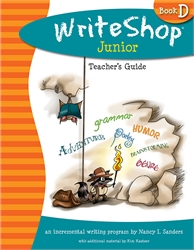 WriteShop Junior Book D - Teacher's Guide