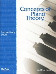 Concepts of Piano Theory - Preparatory Level