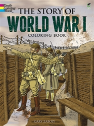 Story of World War I - Coloring Book