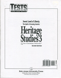 Heritage Studies 3 - Tests (old)