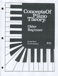 Concepts of Piano Theory - Older Beginner
