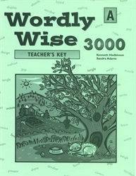 Wordly Wise 3000 Book A - Answer Key (really old)