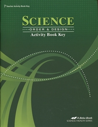 Science: Order & Design - Activity Key