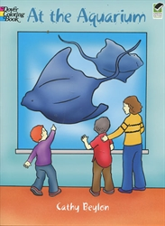 At the Aquarium - Coloring Book