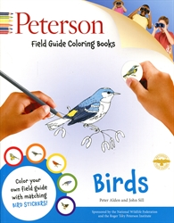 Peterson Field Guide: Birds - Coloring Book