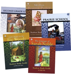 Memoria Press 2nd Grade Literature - Set of Guides