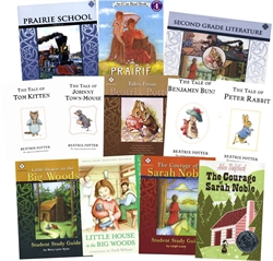 Memoria Press 2nd Grade Literature - Set of Guides & Novels