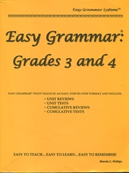 Easy Grammar 34 - Teacher Text