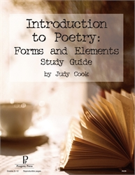 Introduction to Poetry - Progeny Press Guide