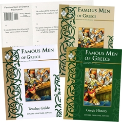 Famous Men of Greece - Memoria Press Package