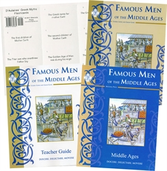 Famous Men of the Middle Ages - Memoria Press Package
