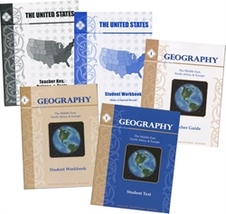 Memoria Press Geography I - Complete Set