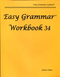 Easy Grammar 34 - Workbook