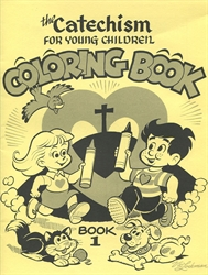 Catechism for Young Children Book I - Coloring Book