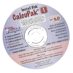CalcuLadder MasterPak 1 CD-ROM