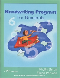 PAF Handwriting Program for Numerals