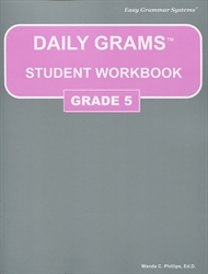Daily Grams Grade 5 - Student Workbook